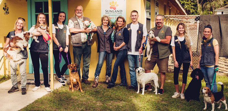 Sunland Acres Pet Boarding Team Jacksonville